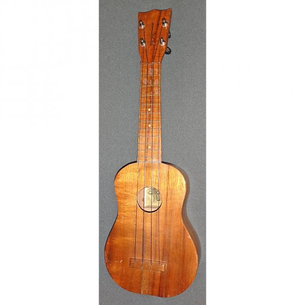 Custom Kamaka Soprano Gold Label Koa Ukulele #1 image