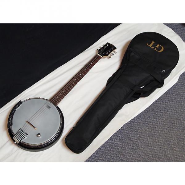 Custom GOLD TONE AC-6+ ELECTRIC 6-string Composite Resonator BANJITAR banjo GUITAR wBAG #1 image