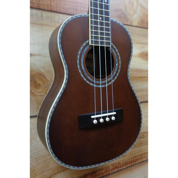 Custom New Washburn WU314 Tenor Ukulele Solid Spruce Top Trembesi Back and Sides #1 image