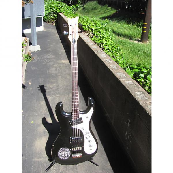 Custom Mosrite Ventures Bass 1971 Black #1 image