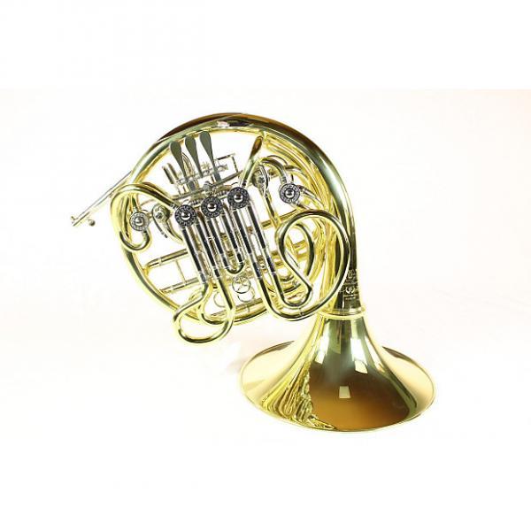 Custom Hans Hoyer C23A Full Triple French Horn DISPLAY MODEL! #1 image