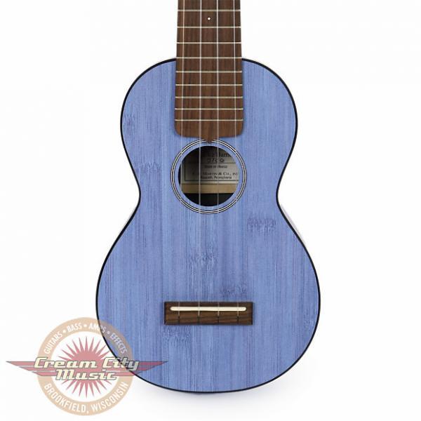 Custom Brand New Martin 0X Bamboo Soprano Ukulele in Blue Uke #1 image