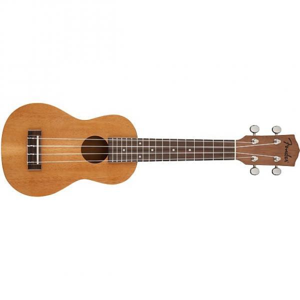 Custom Fender  Piha'Eu Soprano Ukulele Natural #1 image