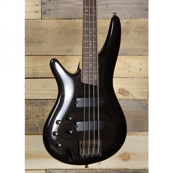 Custom Ibanez SR300L Left Handed 4 String Bass Guitar Black Finish #1 image