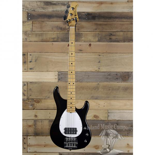 Custom Music Man Sterling Classic 4 String Electric Bass Black Finish #1 image