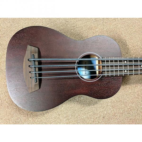 Custom Kala Rumbler Short-Scale Acoustic-Electric Bass Travel Guitar, Mahogany, EQ, Tuner #1 image