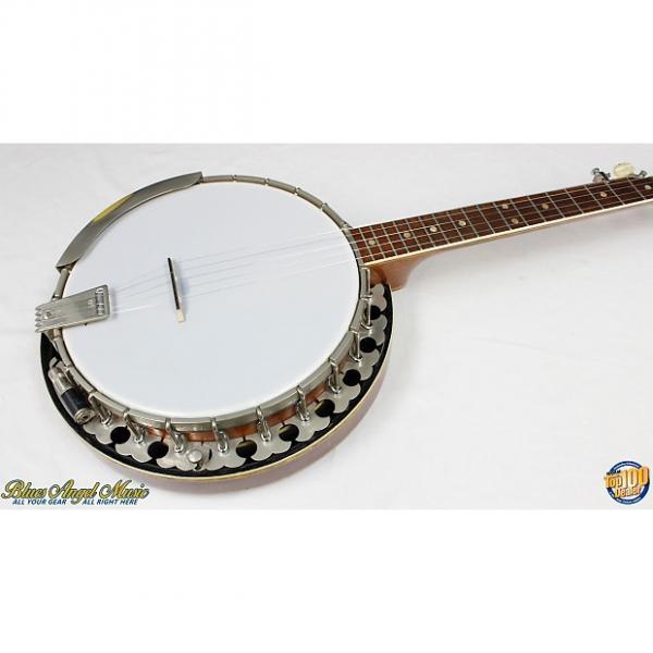 Custom Vintage 1970's Era OME Long Neck 5-String Banjo w/ Sliding Capo & Case! #36335 #1 image