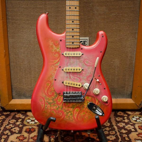 Custom Vintage 1987 Fender ST72-PEX 70s Reissue Pink Paisley Japan Stratocaster Guitar #1 image