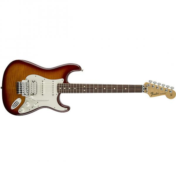Custom Fender Standard Stratocaster® Plus Top with Floyd Rose® Tremolo, Rosewood Fingerboard, Tobacco Sunburst - Default title #1 image