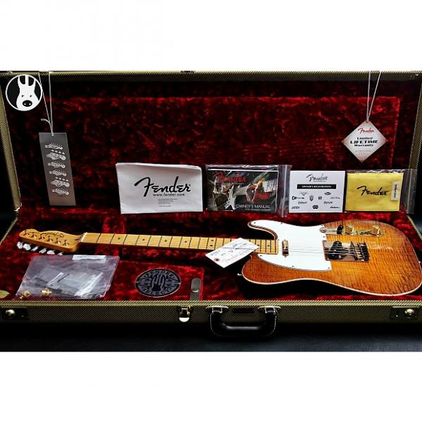 "Custom FENDER USA LTD Select Telecaster AAA+ ""Honey-Burst + Maple"" (2015) #1 image"