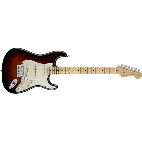 Custom Fender American Standard Stratocaster® Maple Fingerboard 3-Color Sunburst #1 image
