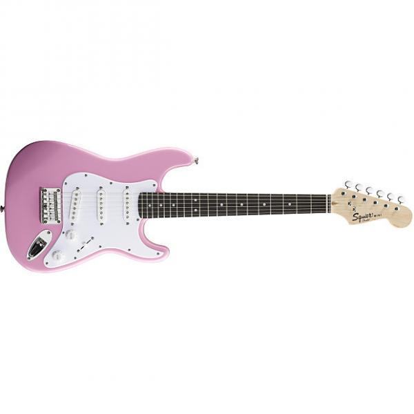 Custom Squier Mini Strat® Pink #1 image