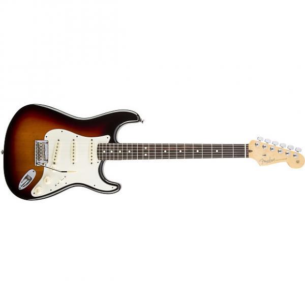 Custom Fender American Standard Stratocaster® Rosewood Fingerboard 3-Color Sunburst - Default title #1 image