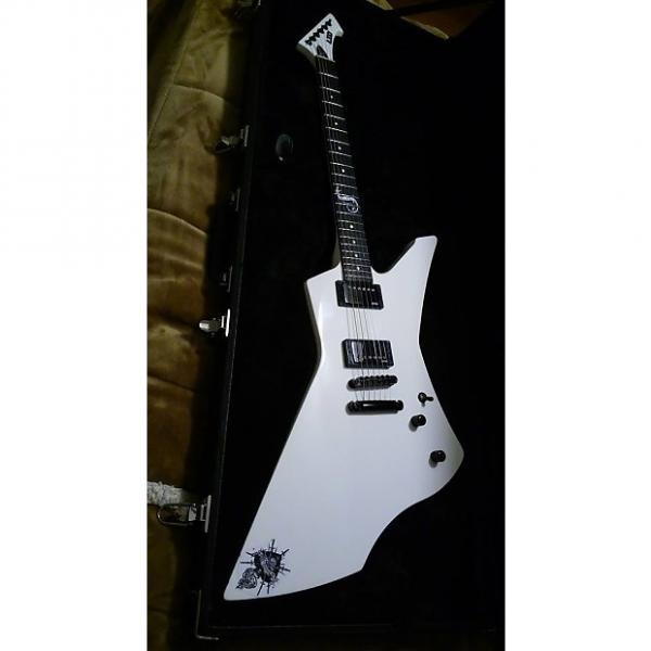 Custom ESP LTD SNAKEBITE  Snakebyte James Hetfield Signature 2016 Alpine White #1 image