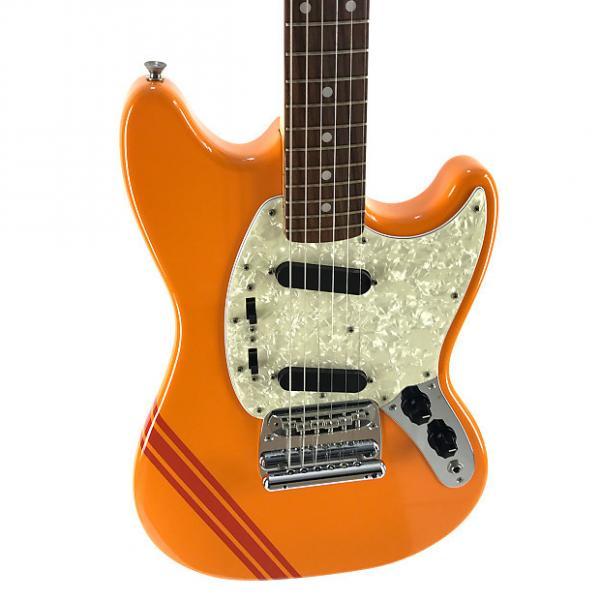 Custom Fender Mustang, '73, Competition, Capri Orange, 2010, AS NEW #1 image