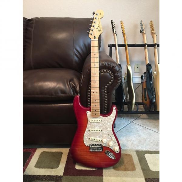 Custom Fender Stratocaster Plus Top Aged Cherry Burst #1 image