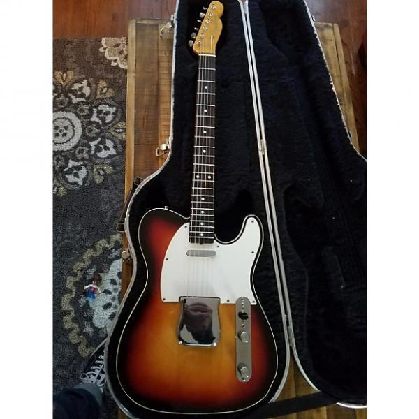 Custom Fender 62 Custom Telecaster 1988 Japanese  62 Custom 1988 Sunburst #1 image