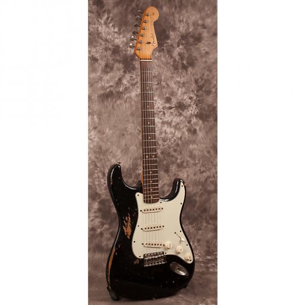 Custom Fender Stratocaster 1963 Black #1 image
