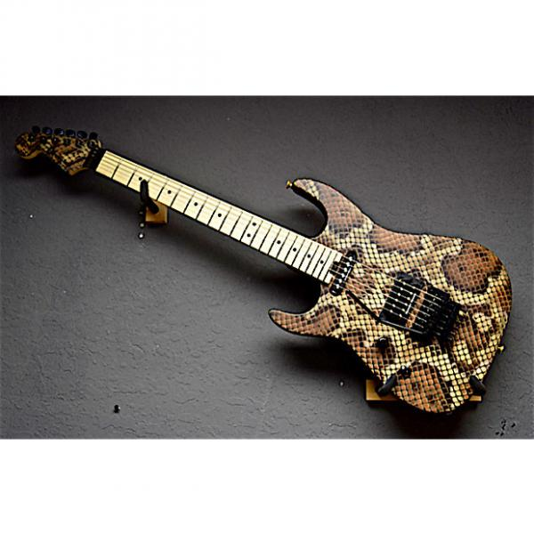 Custom Charvel Left Handed Warren DeMartini Signature 2016 Snakeskin Lefty Guitar #1 image