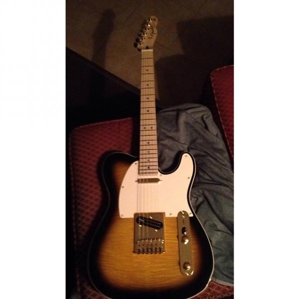 Custom Fender Richie Kotzen signature model telecaster 2015 Tobacco Sunburst #1 image