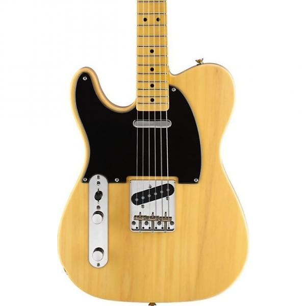 Custom Fender Squier Classic Vibe 50's Telecaster, Butterscotch, Maple Fingerboard, Left Handed #1 image