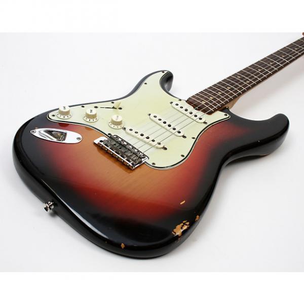 Custom Fender Stratocaster 1964 Sunburst Lefty Left Handed w/OHSC and Case Candy 100% Original #1 image