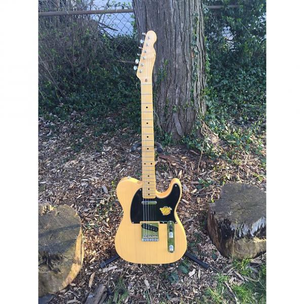 Custom Squier Classic Vibe 50's Telecaster 2015 Butterscotch Blonde #1 image