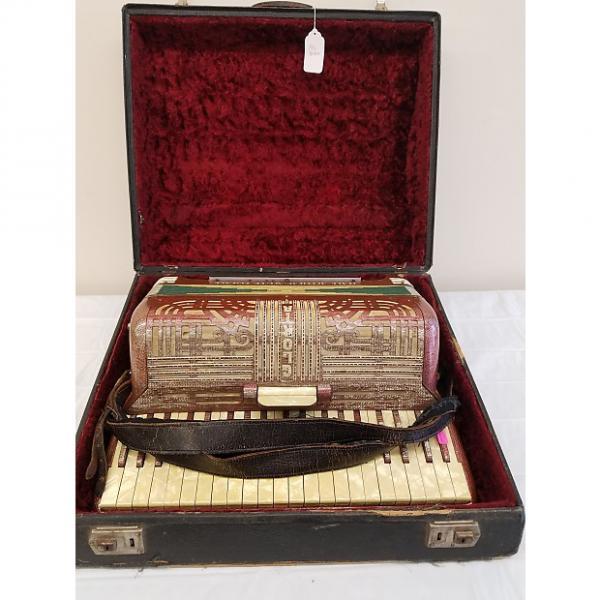 Custom Vintage Italo-American Accordion w/Case (For Repair) #1 image