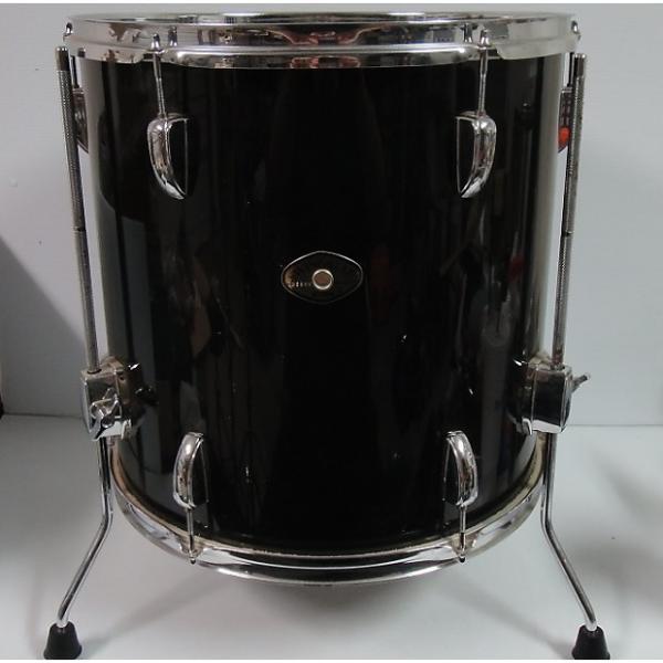 Custom Tama Swingstar black 16'' x 16'' floor tom #1 image