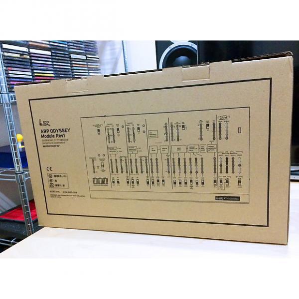 Custom ARP Odyssey Module Rev 1 White KORG Paraphonic Duophonic Analog Synthesizer NEW #1 image