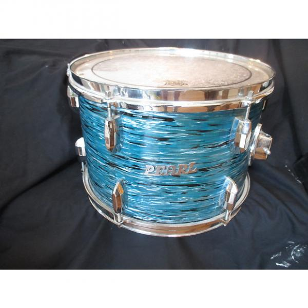 Custom Pearl Vintage 13 x 9 Tom, Blue Oyster, Japan Made, 1968 Excellent Condition! #1 image