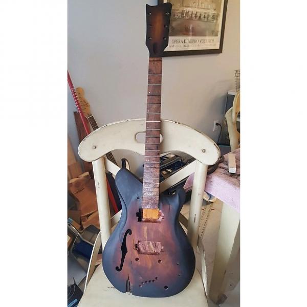 Custom O. K. Meek Guitars   Semi Hollow  2017 Tobbaco Burst #1 image