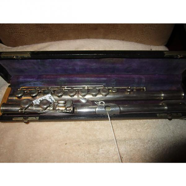 Custom vintage National student flute AS IS For parts or repair project #1 image