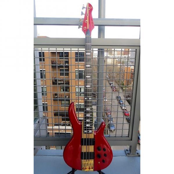 Custom Peavey Rudy Sarzo Model Bass 1989 Red #1 image