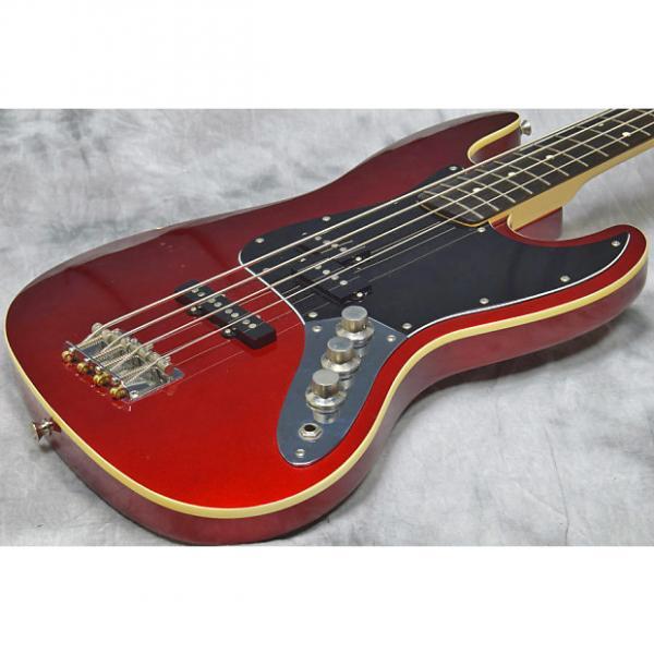 Custom Fender Japan AJB Aerodyne Jazz Bass Old Candy Apple Red #1 image
