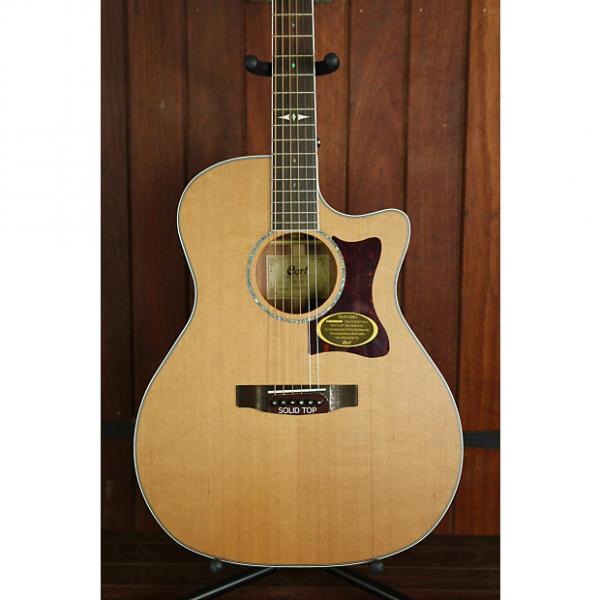 Custom *NEW ARRIVAL* Cort GA5F Grand Auditorium Blackwood Acoustic-Electric Guitar #1 image
