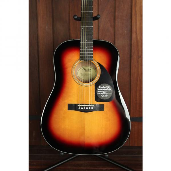 Custom Fender CD-60 Dreadnought Acoustic Guitar Sunburst #1 image