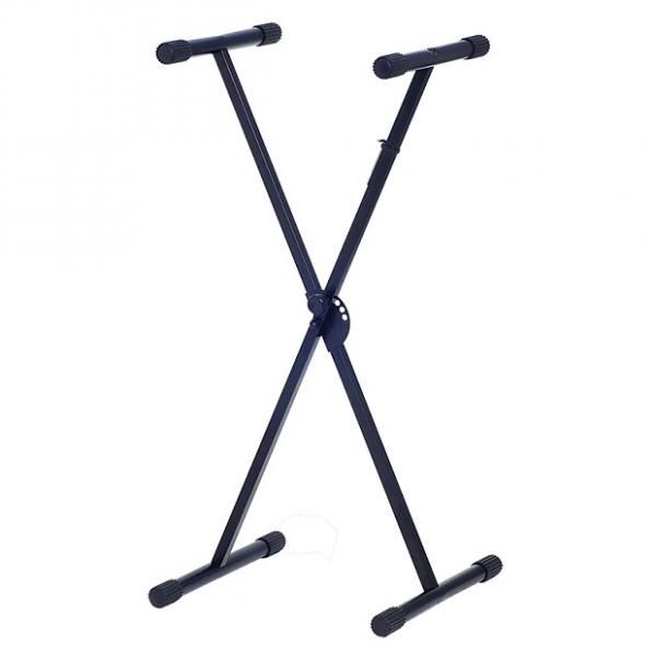 Custom Xtreme X-Style Single Braced 64-98cm Keyboard Stand #1 image