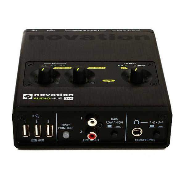 Custom Novation Audio Hub 2x4 Audio Interface and USB Hub #1 image