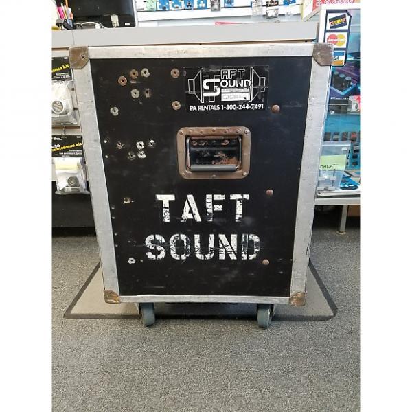 Custom Taft Sound 14-Space Amp Rack Case #1 image