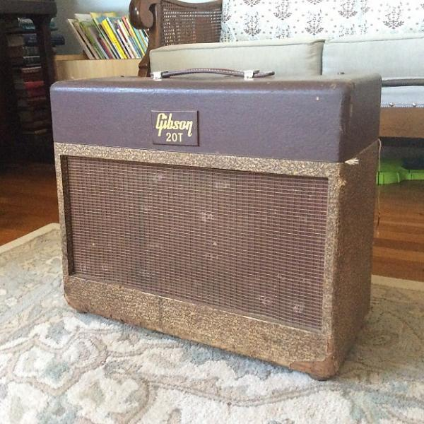 Custom AS-IS Rare Vintage Gibson GA-20t 1950s Two-tone Guitar Amplifier 1x12 #1 image