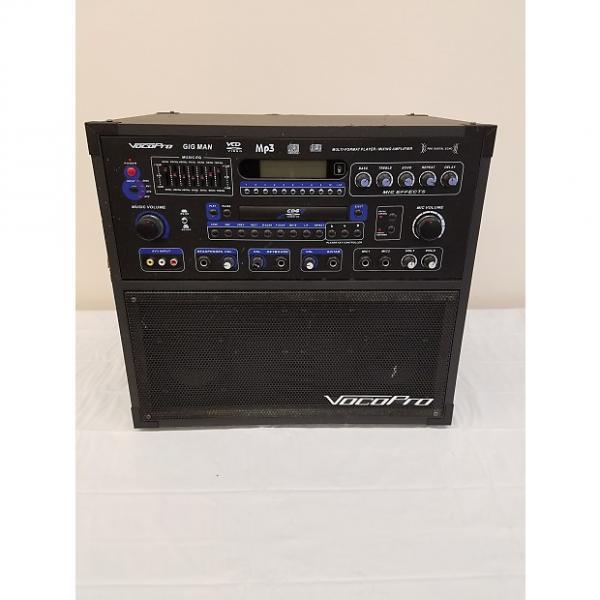 Custom Vocopro Gig Man Karaoke Machine #1 image