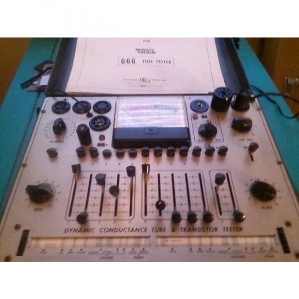 Custom EICO PRO TUBE TESTER EICO 1967 TUBE TESTER EL84 12AX7. EXXI'S, ETC. #1 image