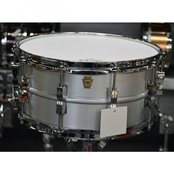 "Custom Ludwig 6.5""x14"" Acrolite Snare Drum - Keystone badge #1 image"