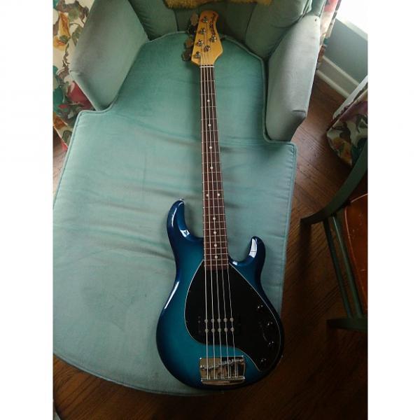 Custom Ernie Ball Music Man Stingray 5 2001 Blue Dawn #1 image