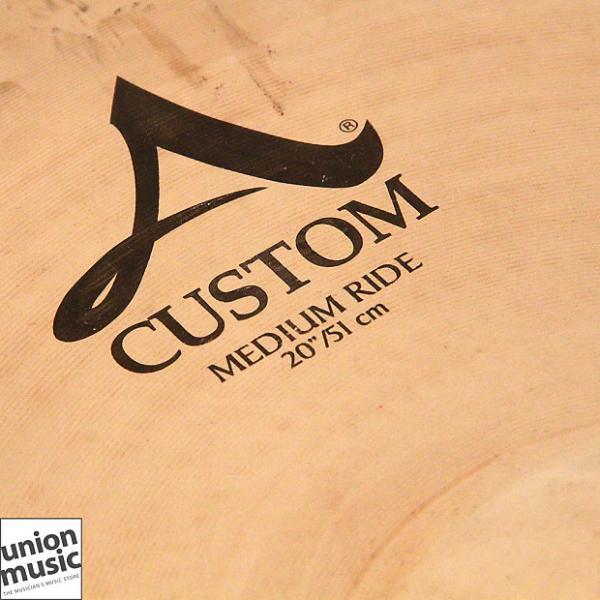 "Custom Zildjian A Custom 20"" Inch Medium Ride #1 image"