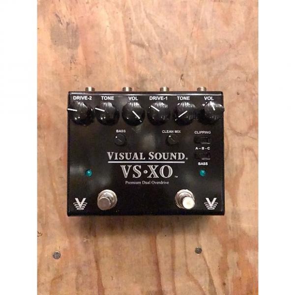 Custom Visual Sound VSXO Premium Dual Overdrive Black #1 image