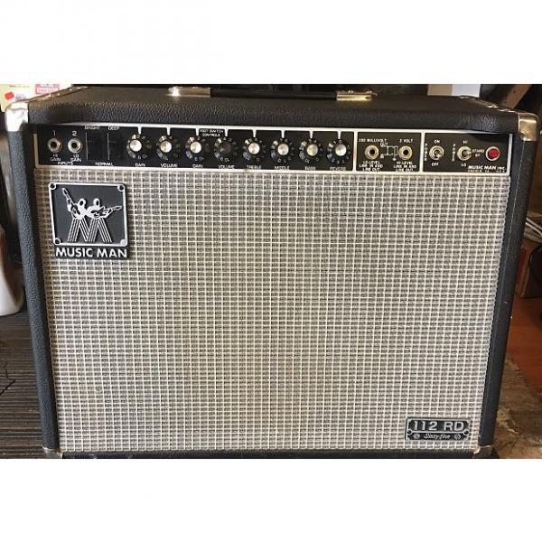 Custom Music Man  112 RP 65 79'-80'? Black/silver #1 image