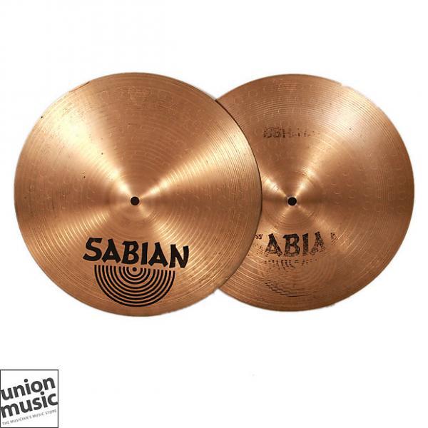 Custom Sabian B8 Hi Hats 14 inch Top & Bottom #1 image