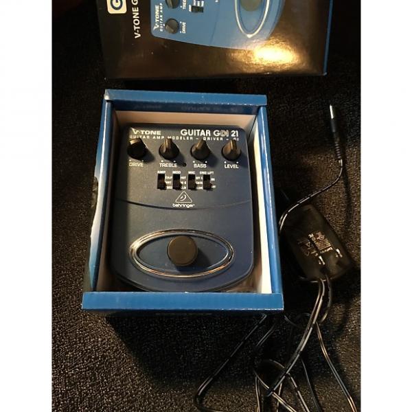Custom Behringer GDI21 V-Tone Guitar Driver DI Pedal #1 image